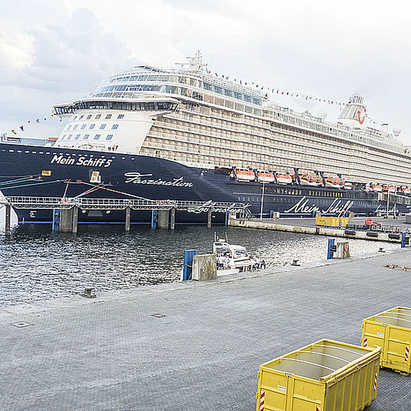 Riding the Waves with Mein Schiff 5